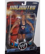 2002 WWE Unlimited Kurt Angle 8 inch Wrestling Action Figure New In The ... - $49.99