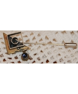 Vintage 1980s Artisan Sterling Silver Stick Pin - $25.00