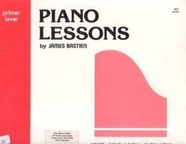 Bastien Piano Library Piano Lessons Primer Level - $4.95