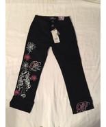 Platinum Plush Black Jeans Juniors Sz 1 - $25.99