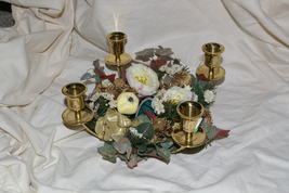 PartyLite Deck The Halls Candle Ring Party Lite - $10.00