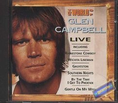 Live-The world of [Audio CD] Glen Campbell - $9.50