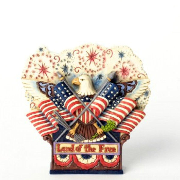 "Primary image for ENESCO - Jim Shore ""Fly The Freedom Flag"" #4037681 -NIB-2013"