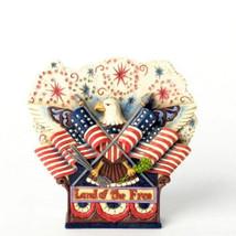 """ENESCO - Jim Shore """"Fly The Freedom Flag"""" #4037681 -NIB-2013 image 1"""