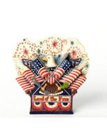 """ENESCO - Jim Shore """"Fly The Freedom Flag"""" #4037681 -NIB-2013 - $29.99"""
