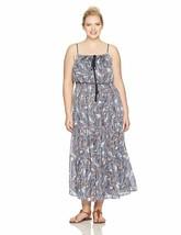 Sangria Women'S Size Printed Maxi Dress Plus - $94.99