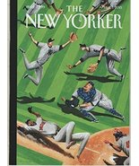 The New Yorker 2015 April 27 - On the Cover: Baseball Ballet. By Mark Ur... - $9.95