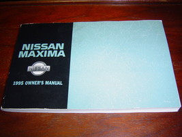 NISSAN MAXIMA 1995 OWNER'S MANUAL - $13.99