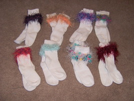 Girls Fancy socks - $4.00