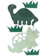 Westrim Paper Bliss Adhesive Embellishments (5 Per Package) - Dinosaurs - $4.89