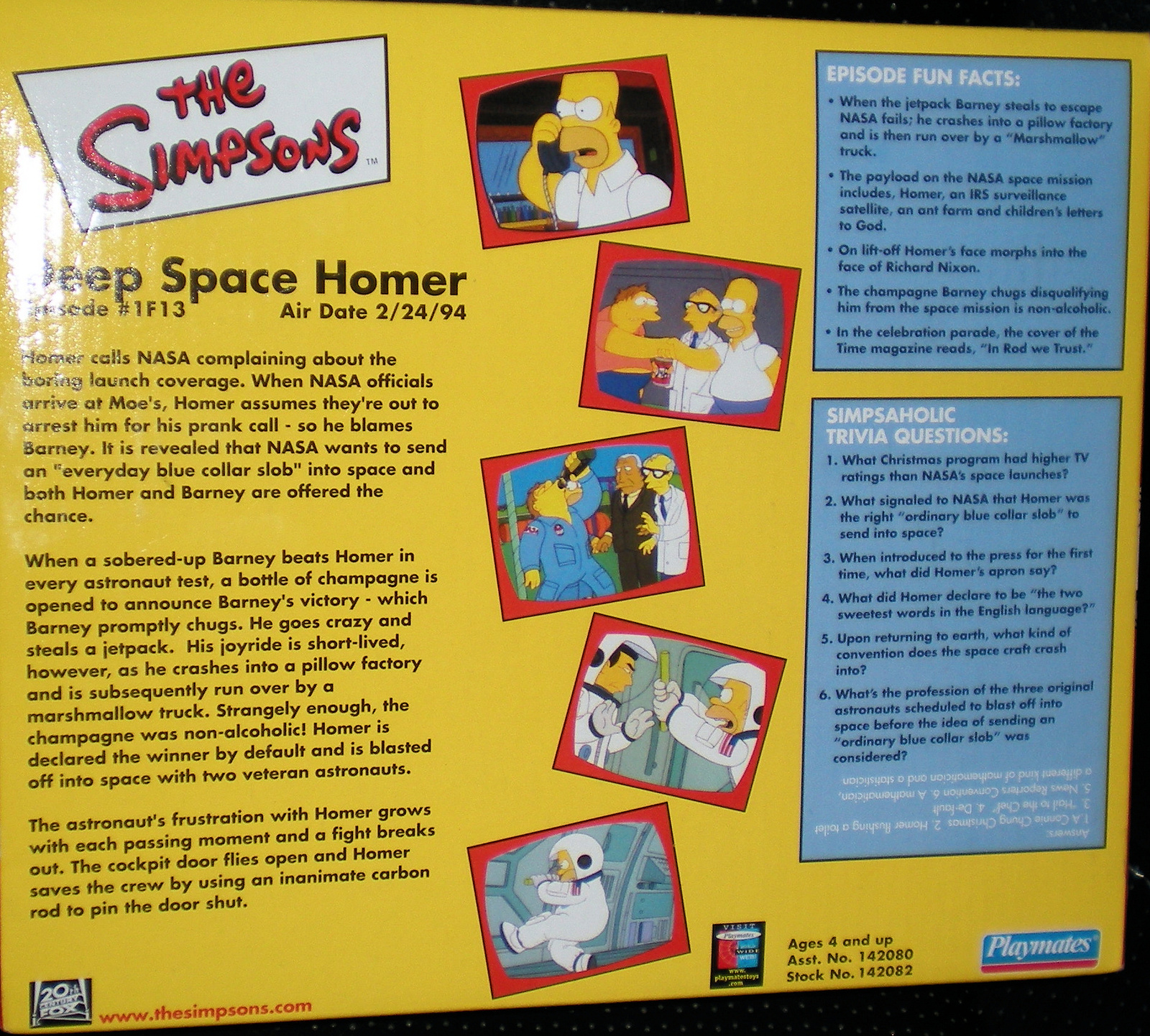 The Simpsons - Deep Space Homer image 2