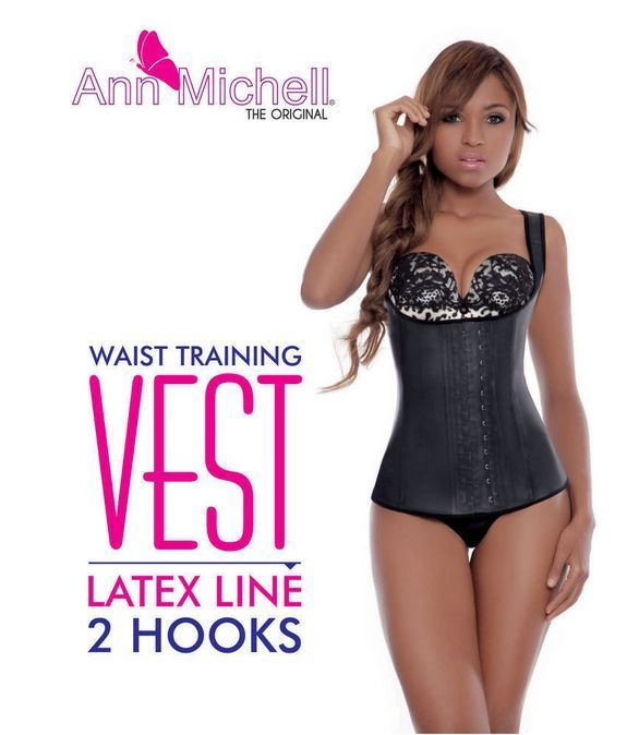 Primary image for ANN CHERY 2027/ ANN MICHELL 2027 VEST STYLE /BODY SHAPER/CHALECO  BLACK L/38