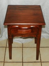Cherry Nightstand / Entry Table (JLC) - $249.00
