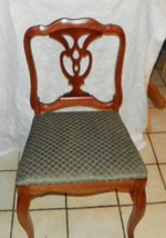Mahogany Desk Chair / Dinette Chair by Drexel - $249.00