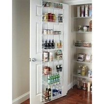 Storage Pantry Kitchen Food Organizer Door Hanging Rack Shelves Adjustab... - $72.83