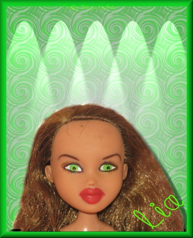Pregnant Fashion Doll Lia OOAK Christmas Bratz