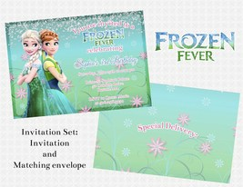 Frozen fever invitation set thumb200