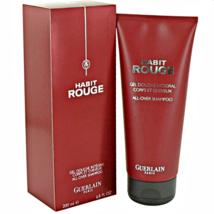 Guerlain Habit Rouge Hair & Body Shower Gel 6.8 oz  by Guerlain. - $41.87