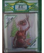 Vintage E.T. Movie Scratch n Sniff Sticker JUMBO Sz Sniff Ums Extra Terr... - $19.99
