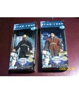 "Star Trek 9"" action figures FIRST CONTACT Commander Riker Zefram Cochrane - $15.00"