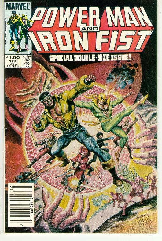 Power man and iron fist  100