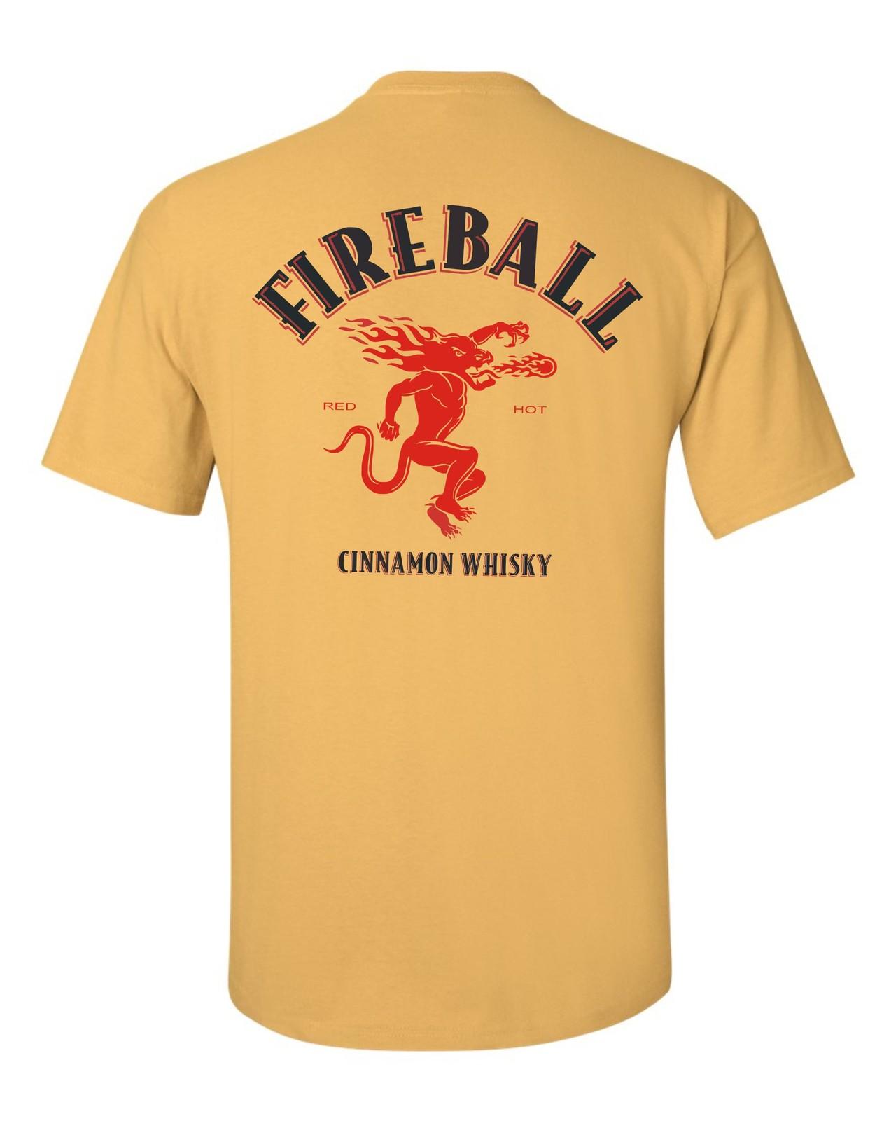 Fireball yellow back