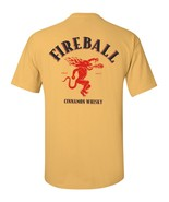 Fireball Whiskey T Shirt S M L XL 2XL 3XL 4XL 5XL - $16.99 - $19.99