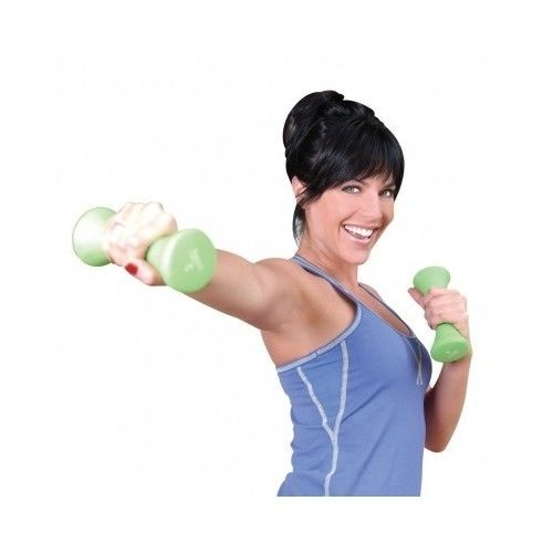 New Womens Dumbbell Set Exercise Weight Loss Trainer Workout Lifts Health Color