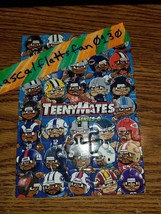 2017 TEENYMATES SERIES 6 COMPLETE NFL PUZZLE SET / ALL 35 PIECES - BRAND... - $5.34