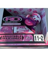 Roller Derby EZ-Roll Girls Size 11J-2 Beginner Roller Skates Pink Purple... - $21.34