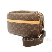 LOUIS VUITTON Reporter PM Monogram Canvas Shoulder Bag M45254 France Aut... - $734.68