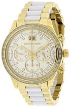 Michael Kors Brinkley Women's Two Tone Watch MK6189 Brand New - $169.88