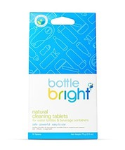 Bottle Bright 12 Tablets - All Natural, Biodegradable, Chlorine & Odor F... - $177,63 MXN
