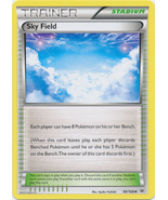 Sky Field 89/108 Uncommon Trainer Roaring Skies Pokemon Card - $0.49