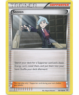 Steven 90/108  Uncommon Trainer Roaring Skies Pokemon Card - $0.49