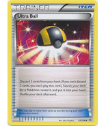 Ultra Ball 93/108 Uncommon Trainer Roaring Skies Pokemon Card - $0.49