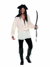 Pirate Shirt, Pirate Fancy Dress, Large #CA - $31.52