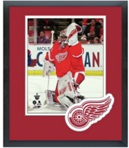 Petr Mrazek 2014-15 Playoffs Detroit Red Wings - 11 x 14 Matted/Framed Photo - $43.95