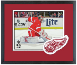 Petr Mrazek 2014-15 Playoffs Detroit Red Wings - 11 x 14 Matted/Framed P... - $43.55