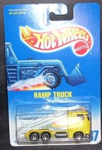 Hot Wheels Diecast YELLOW RAMP TRUCK NEW! 1991 #187 - $6.96