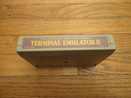 TI 99/4A Terminal Emulator II tested cartridge modem speech enhancements  - $5.99