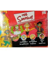 Simpsons Bongo 3-Pack Action Figure Multi-Pack by Playmates  Halloween - $30.00