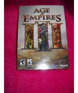 Age of Empires III; Ensemble Studios; Microso... - $18.99