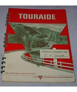 Vintage Conoco Oil Touraide Travel Maps Routing Attractions 1946 - $12.95