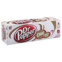 Dr Pepper Soda 12 X 12 Fl Oz (Pack of 4) (Diet Caffeine Free) - €40,27 EUR