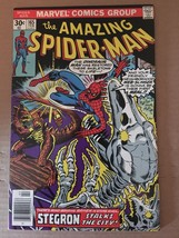 Amazing Spider-Man 165 Marvel Comic Book 1977 FN Condition Stegron - $4.49