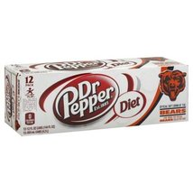 Dr Pepper Soda 12 X 12 Fl Oz (Pack of 4) (Diet) - €40,26 EUR