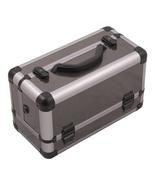 Hiker Outdoor Travel Cosmetic Holder Gun Metal Beauty Makeup Case - Hk3101 - $59.26