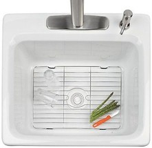 NEW Medium Sink Protector Stainless Steel Prote... - $20.82