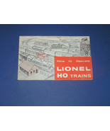 1960 HOW TO OPERATE LIONEL HO TRAINS - $15.99